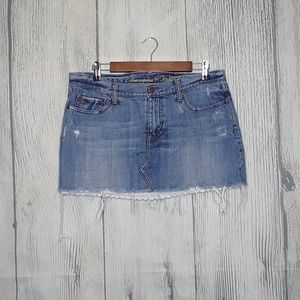 Abercrombie & Fitch Denim Skirt, size 10